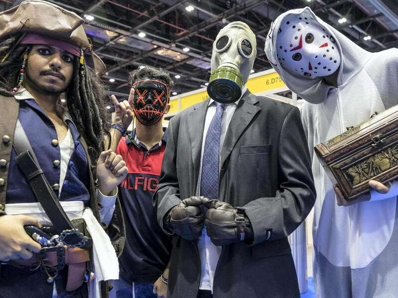 Three-day Middle East Film and Comic Con in Dubai. (Twitter)