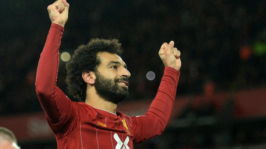 Mohamed Salah is a two-time top scorer in the English Premier League and a Champions League winner (Photo: Arab News)