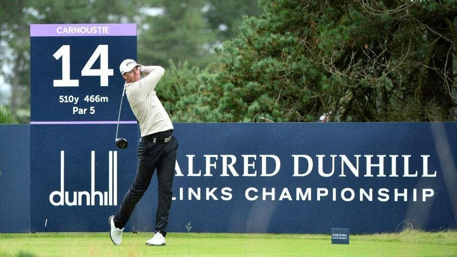 Perez in Action at the Alfred Dunhill Links Championship