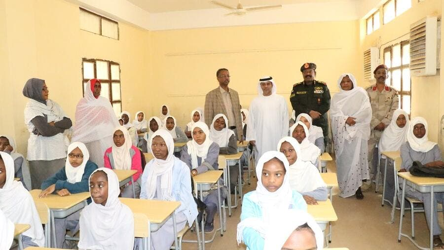 Abu Dhabi Fund for Development Delivers Third Shipment of Educational Supplies to for 400,000 Students in Sudan