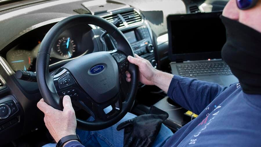 Ford has designed a new heated software enhancement to pilot with its Police Interceptor Utility – one that law enforcement agencies in the United States can utilize to help reduce the footprint of the COVID-19 virus.