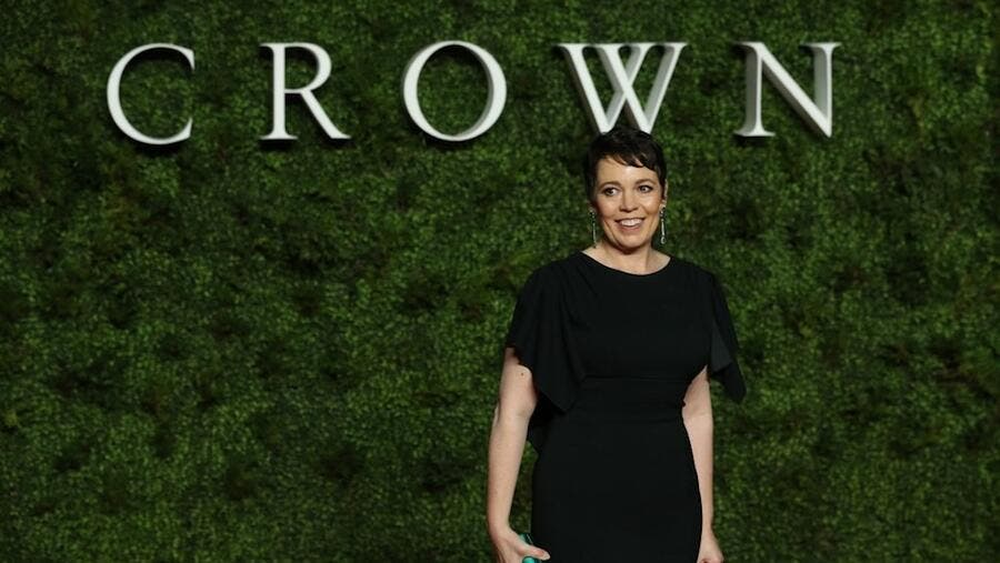 British actress Olivia Colman is currently potraying Elizabeth II. — AFP pic