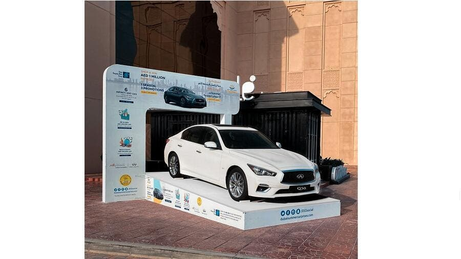 Two Down, Four to Go: Infiniti of Arabian Automobiles Giving Away Six Q50 Cars as Part of Dubai Summer Surprises
