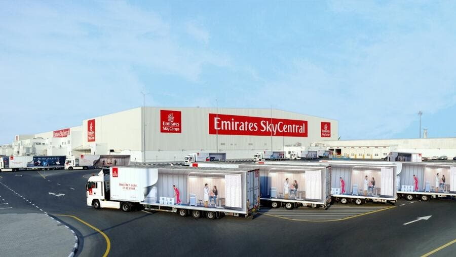 Emirates SkyCentral DWC will be operating as a dedicated hub for COVID19 vaccines