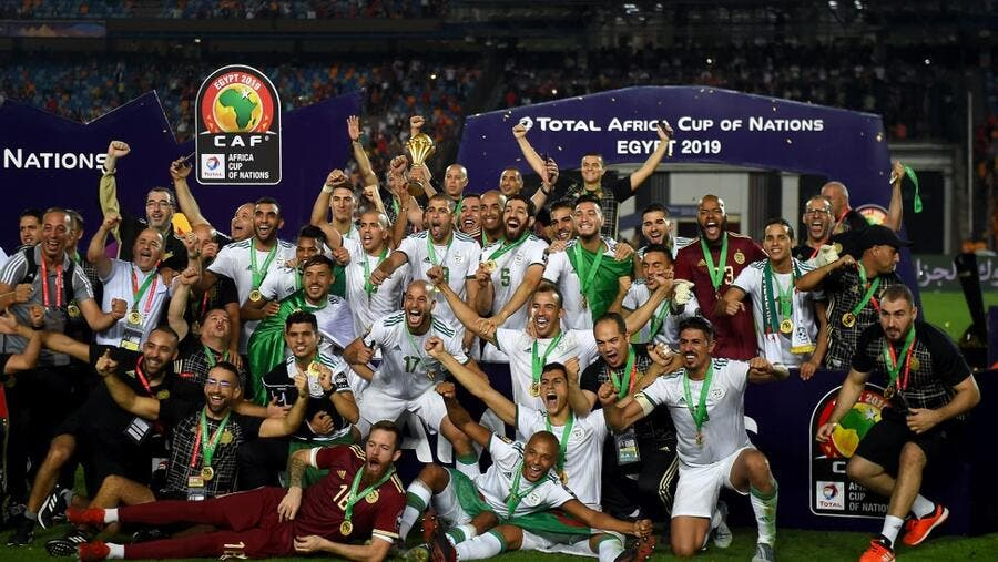 A second minute goal from Algeria proved enough to beat Senegal in the Afcon final.