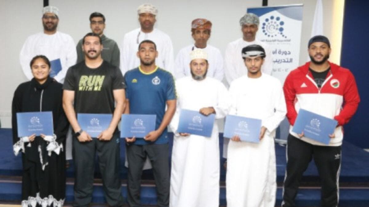 Sports coaches specialised in competitions, fitness trainers of sports associations and sports committees took part in the course.