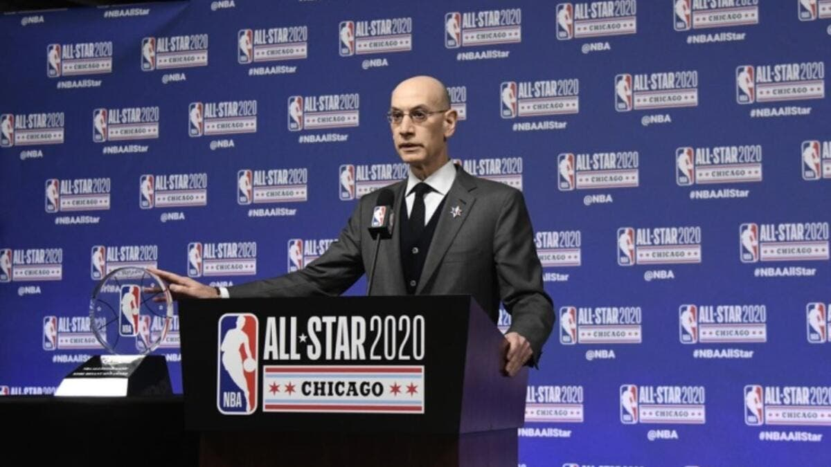 NBA Commissioner Adam Silver (Photo: BNA)