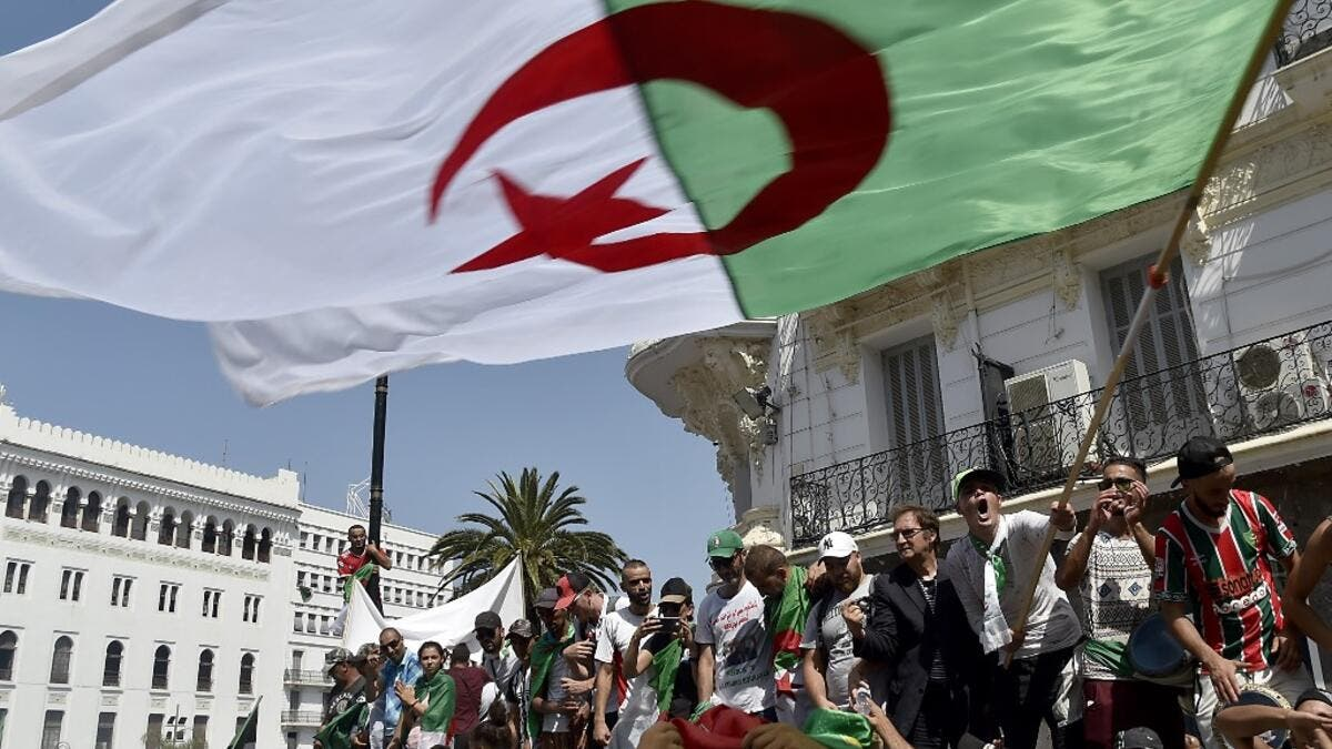 Algerian protesters demonstrate in Algiers on July 26, 2019, in the latest in weeks of rallies against the ruling class amid an ongoing political crisis in the country. (AFP/ File Photo)