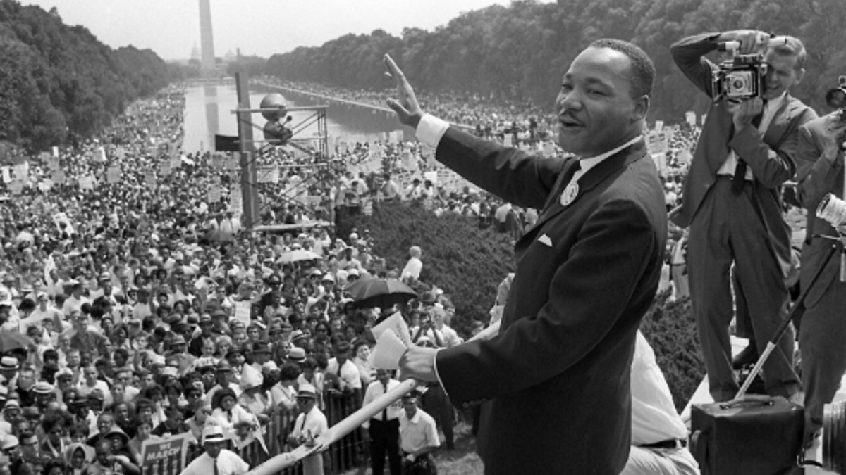 Martin Luther King (AFP File Photo)
