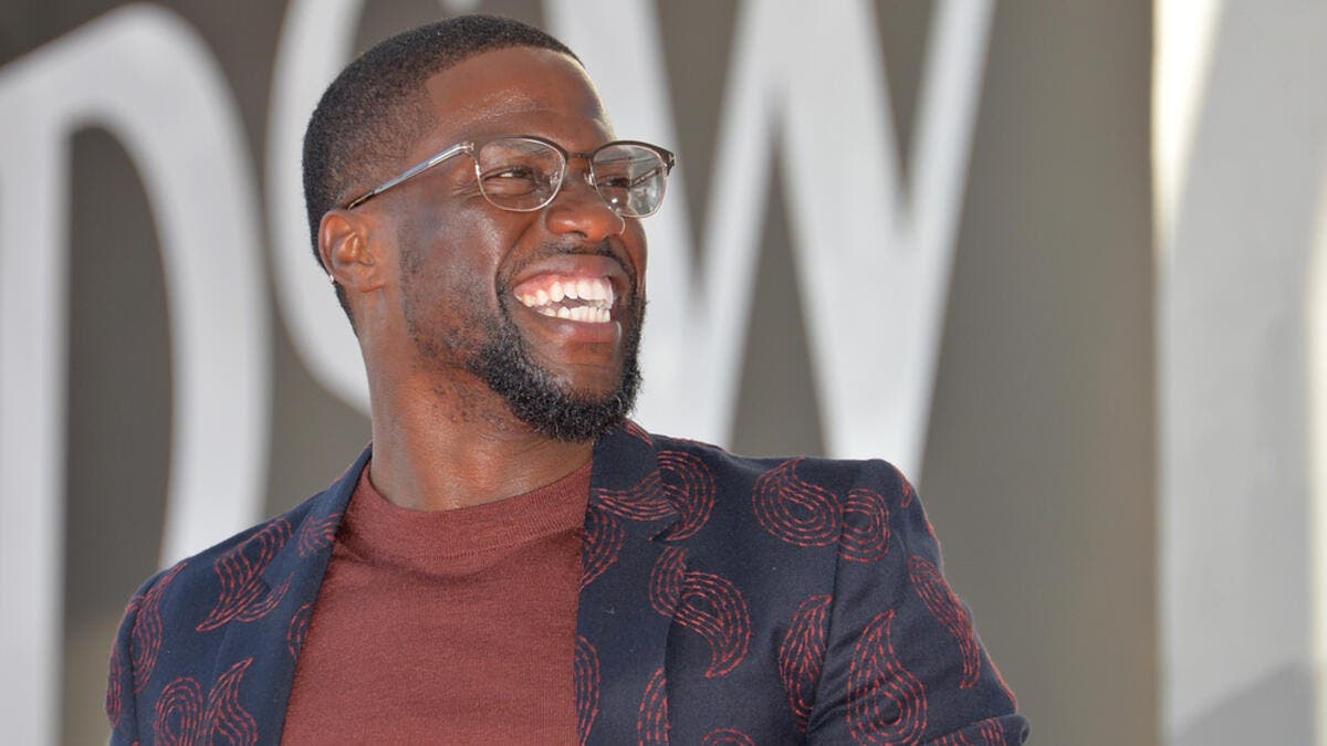 Kevin Hart at the Hollywood Walk of Fame Star Ceremony. (Shutterstock/ File Photo)