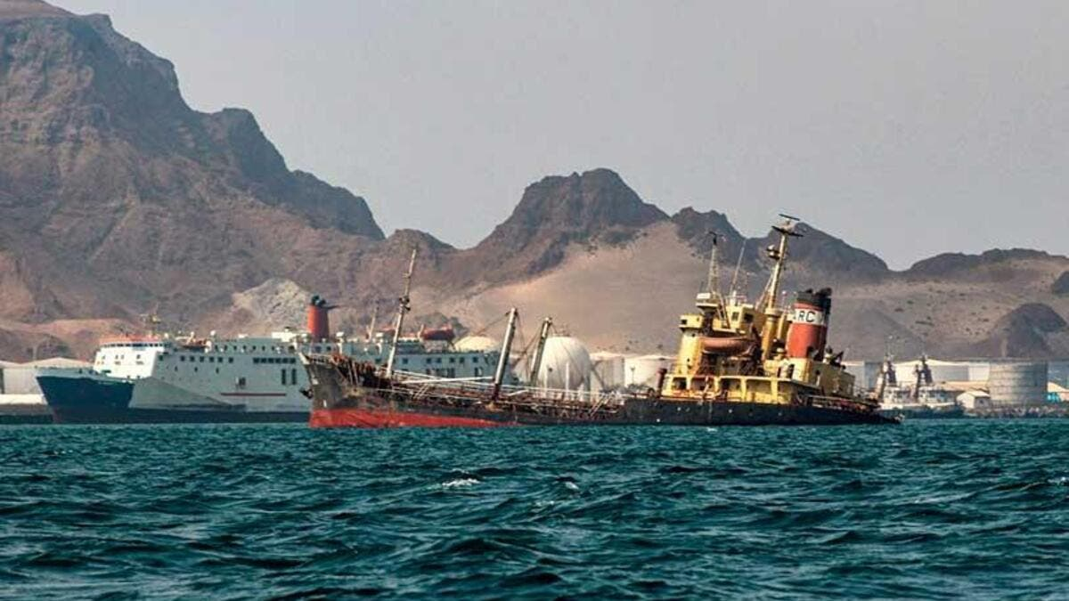 Oil tanker threatens create a huge oil slick in the Red Sea (AFP File Photo)