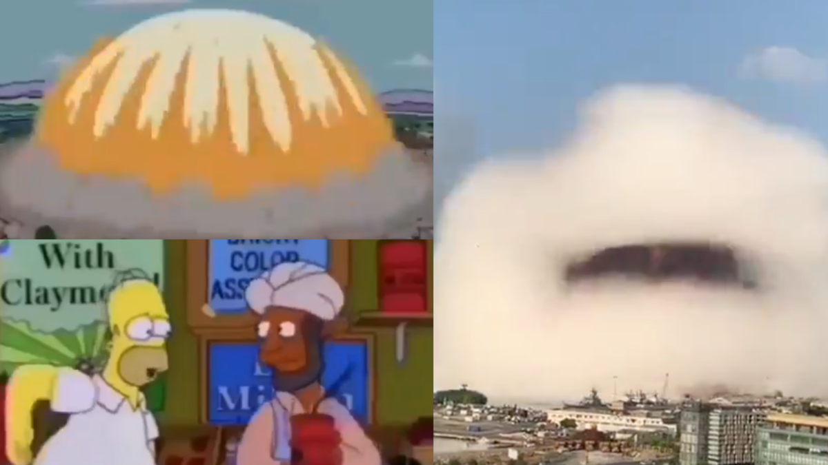 The Beirut Blast on This Simpsons Episode: How the Shocking Event Was Predicted and Interpreted