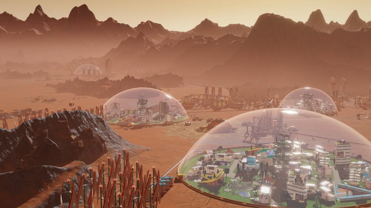 Humans to Colonise Mars and Live Inside Glass Domes by 2050. (Twitter)