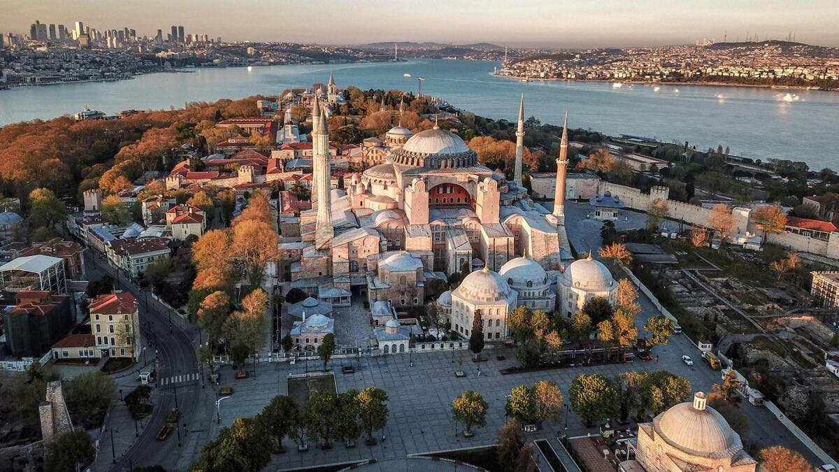 Hagia Sophia, April 2020 /AFP