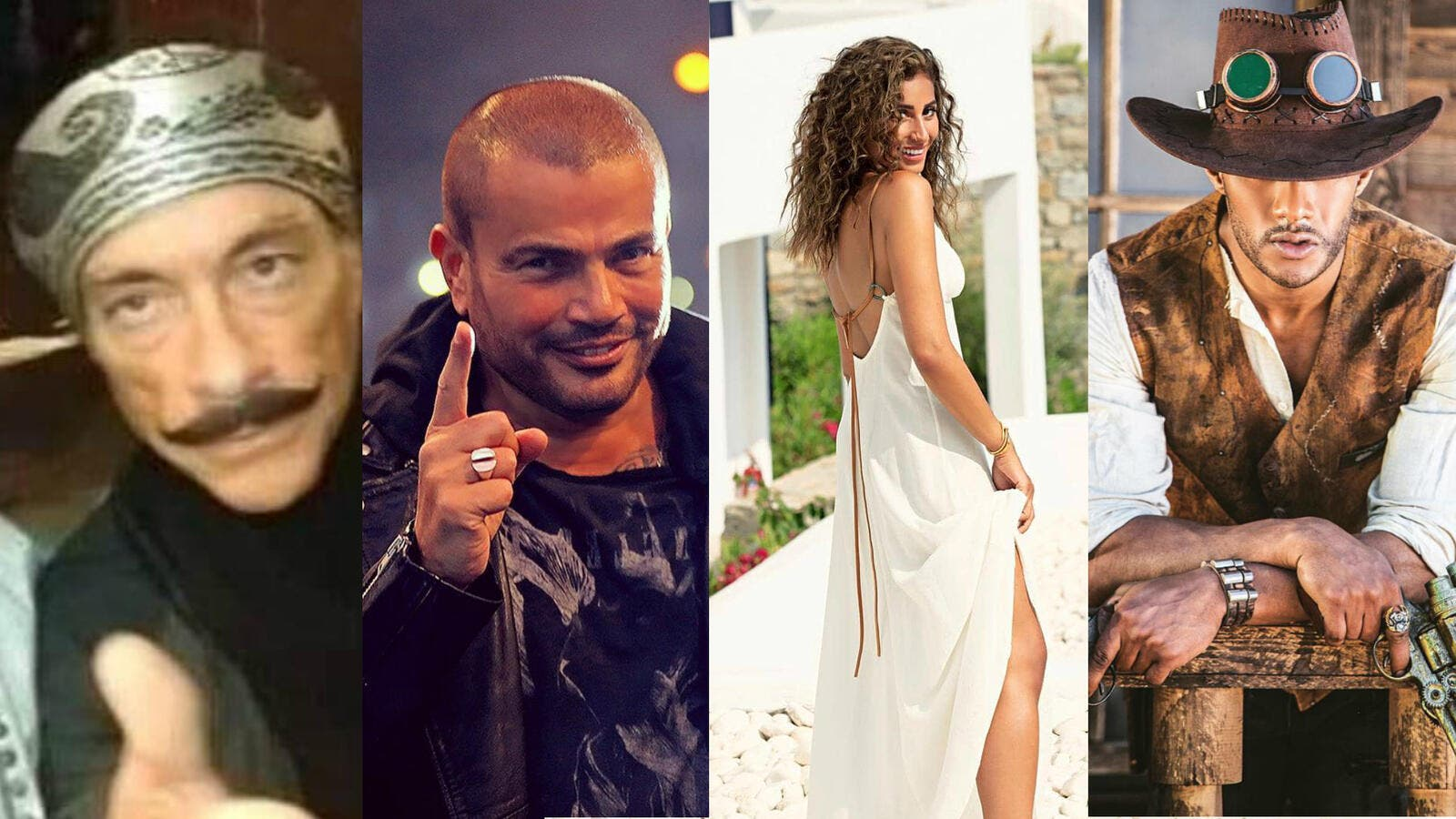 In Ramadan 2019 Ads Dina Sherbini and Amr Diab will appear for the first time on screen together, and universal star Van Dam is turning into a 'Saidi' alongside Mohammed Ramadan.