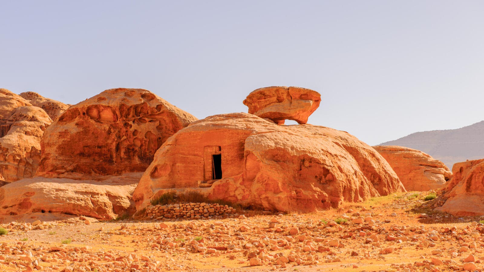Rocks of Beidha, a major Neolithic archaeological site. (Shutterstock/ File Photo)