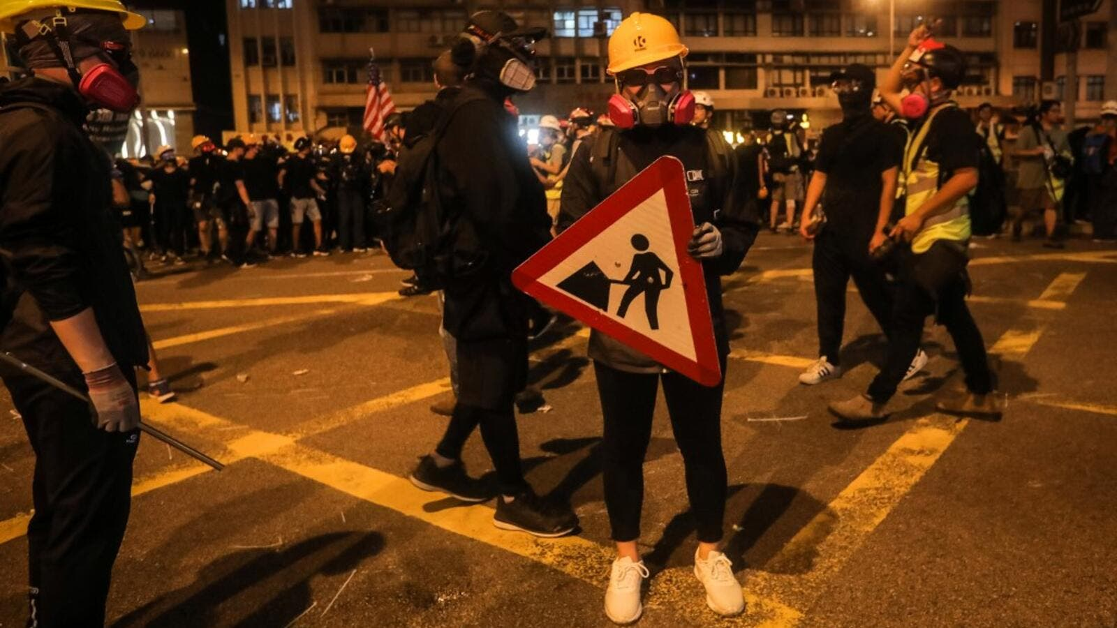 Hong Kong Leader Denounces The Violence in Sunday's Protests
