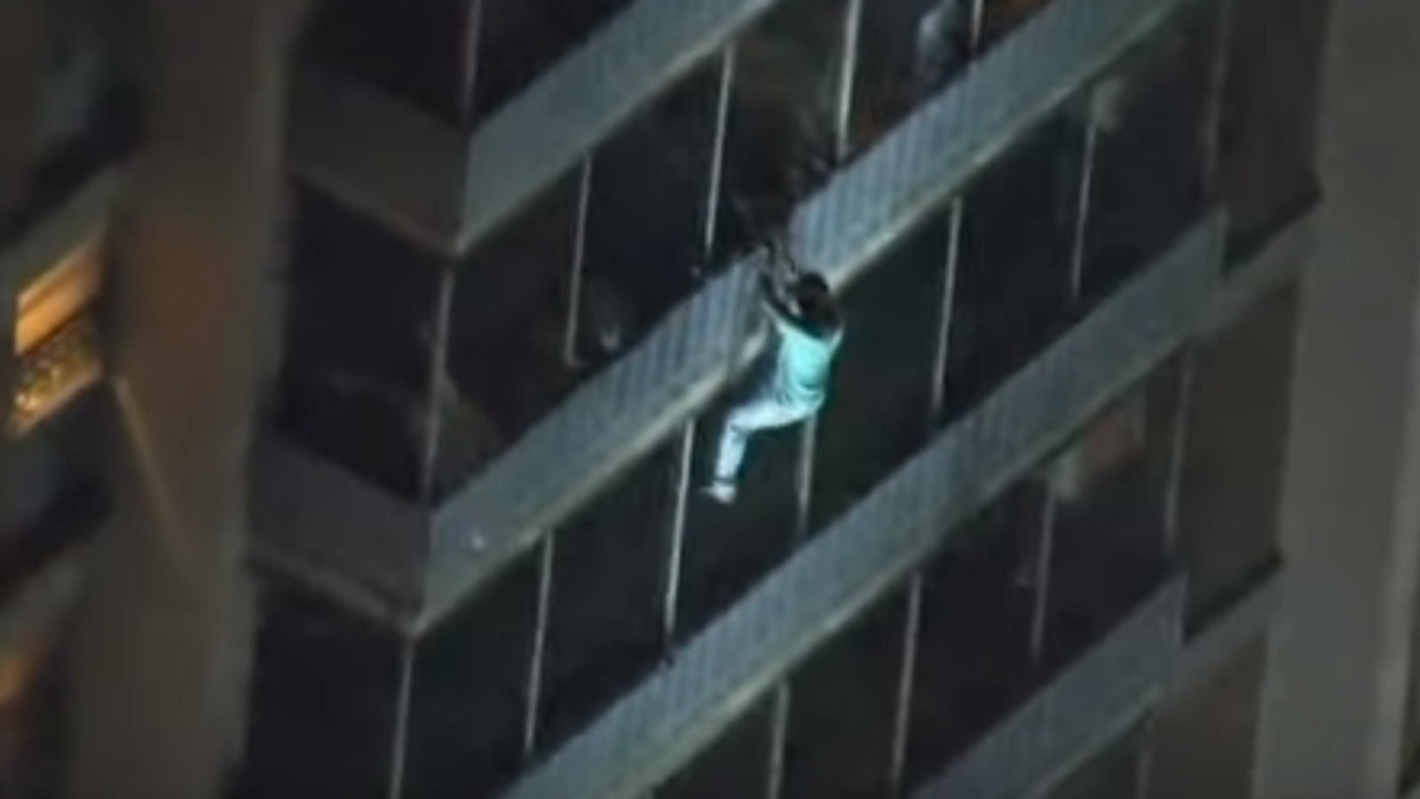 A Philadelphia man's love for his bedridden mother made headlines when he scaled a burning 19-storey building to save her. (YouTube Screenshot)