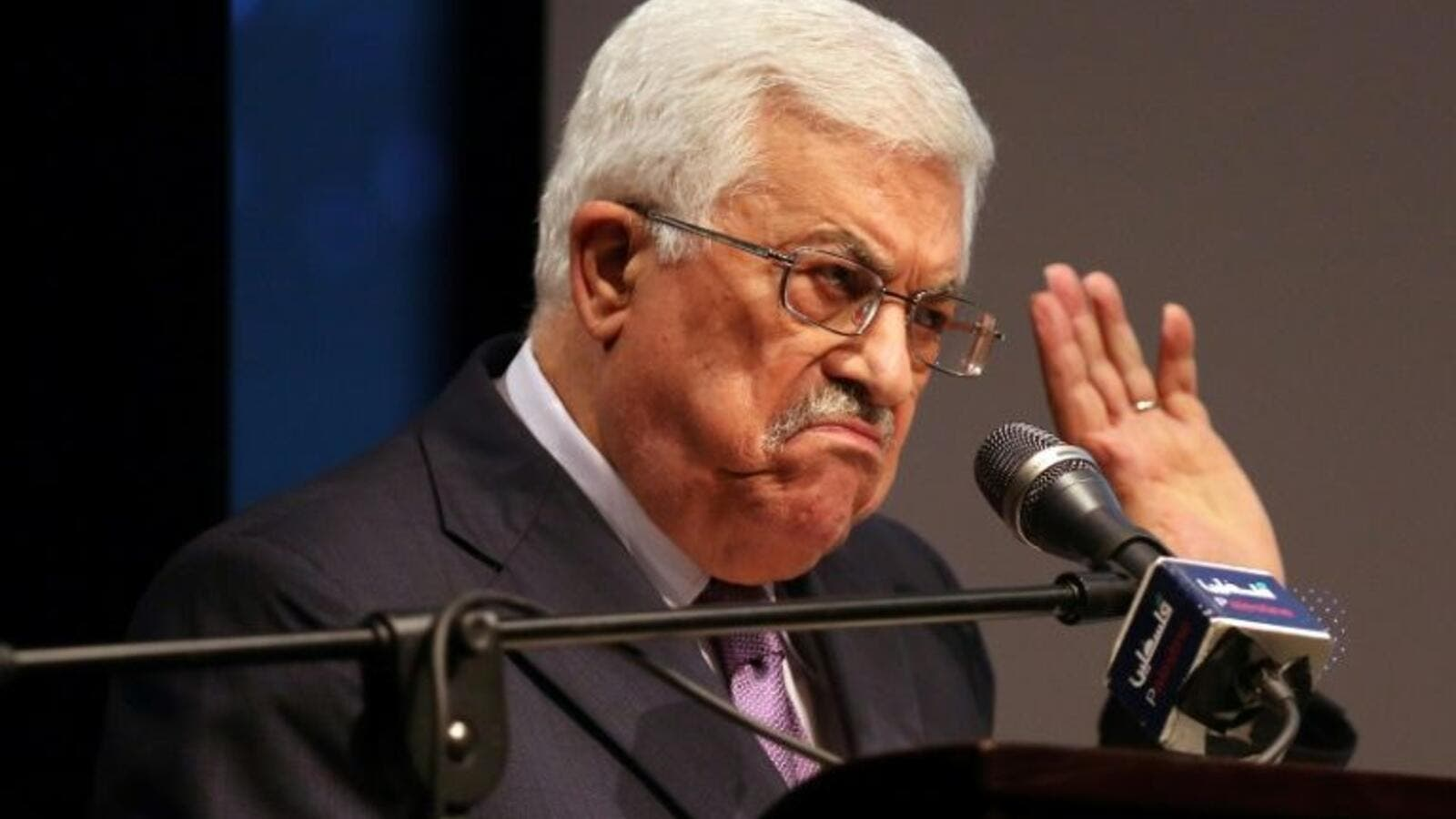Palestinian president Mahmoud Abbas. (AFP/ File Photo)