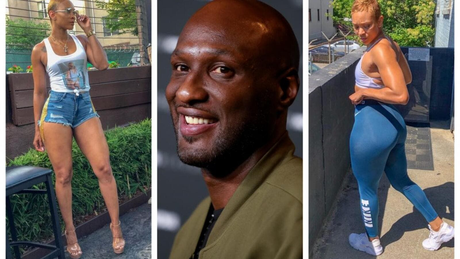 Lamar Odom has made it Instagram official with his new girlfriend. (Instagram)