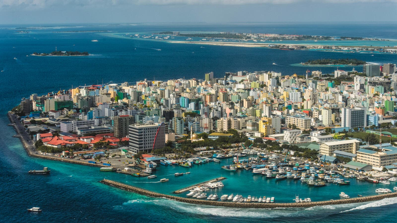 Maldivian capital from above (Shutterstock)