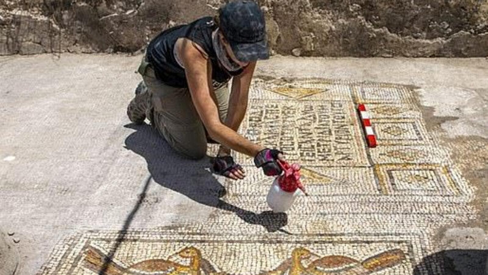 A team from the University of Haifa found the Burnt Church in 2005, but only began the dig this summer (dailymail,Dr.Eisenberg)