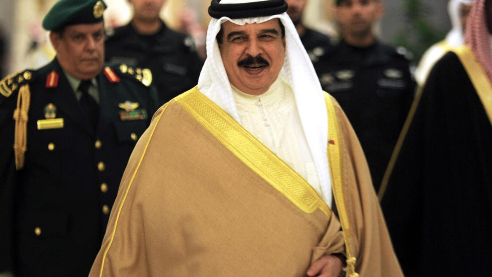 Bahrian King Hamad reportedly condemned the Arab boycott of Israel (AFP)