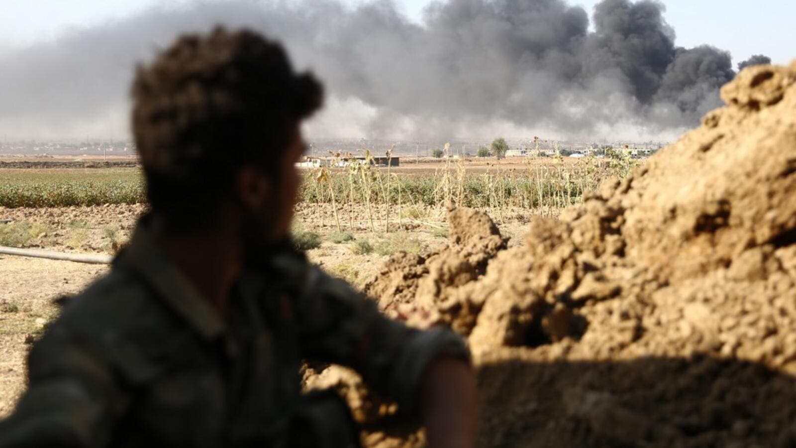 Turkey kept up its assault on Kurdish-held border towns in northeastern Syria on Saturday on the fourth day of an offensive that is drawing growing international condemnation, even from Washington. (Nazeer Al-khatib / AFP)