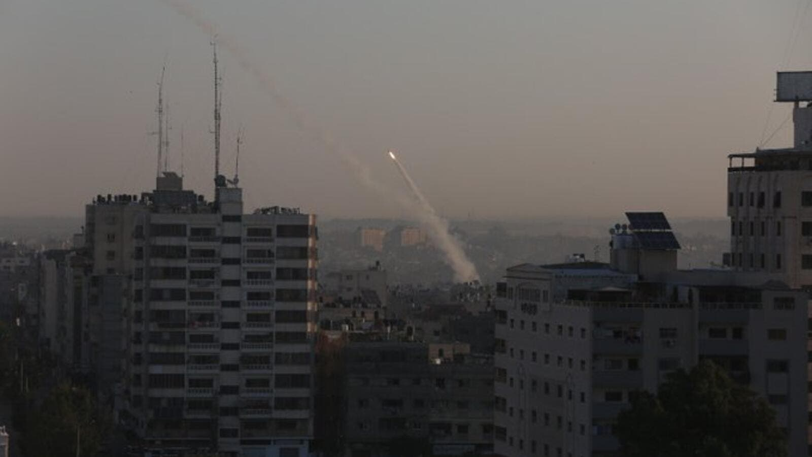 Over 60 rockets fired at #Israel so far (Twitter)