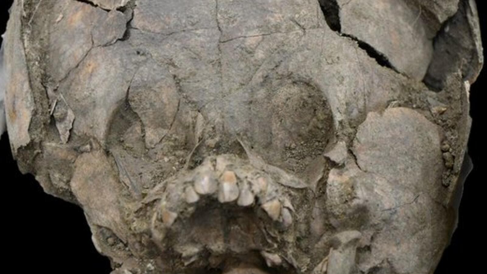Infants Buried With Helmets Made From Skulls Of Other Children Discovered
