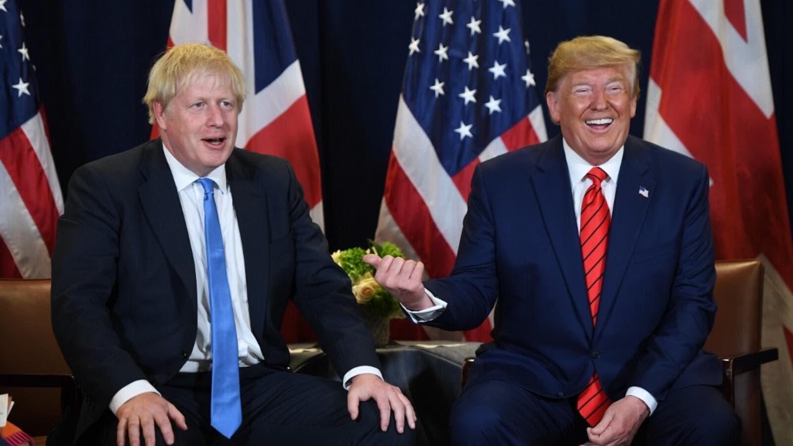 Trump heads to Britain for North Atlantic Treaty Organisation  summit
