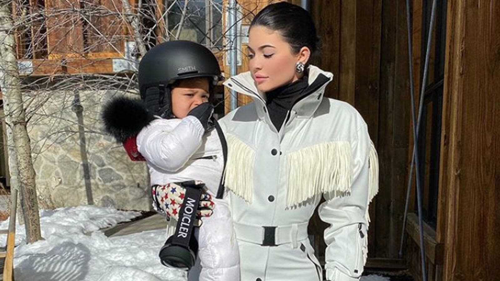 Kylie Jenner's Daughter Stormi Gifted Life-Size Playhouse By Grandma Kris