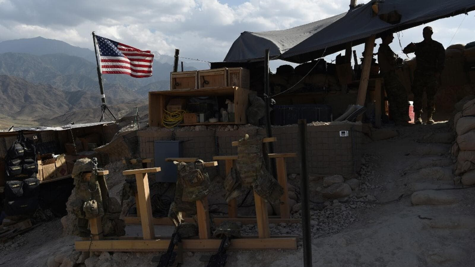 US and Afghan troops came under direct fire in eastern Afghanistan
