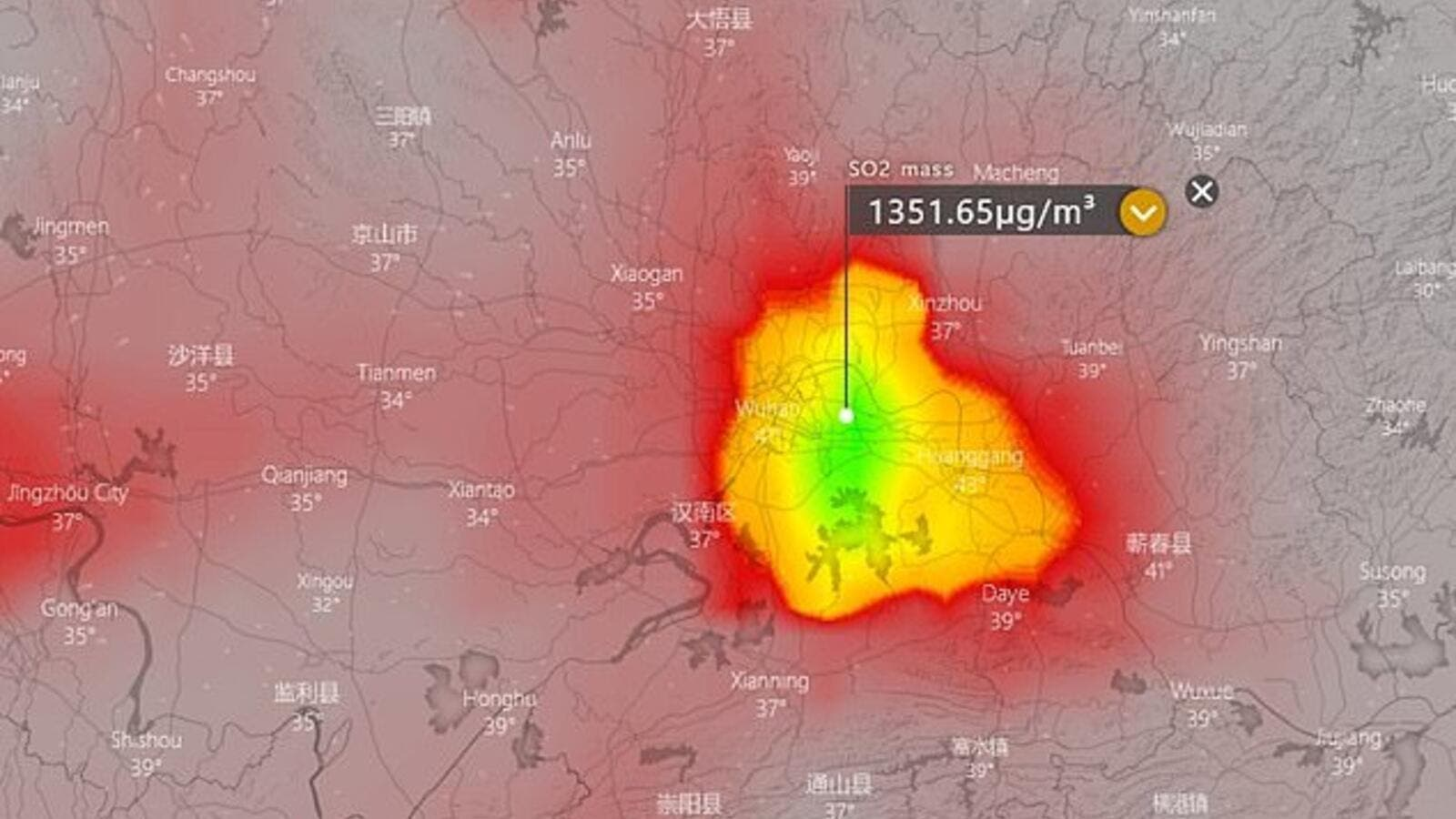Shock Satellite Images May Show The Real Scale Of China S