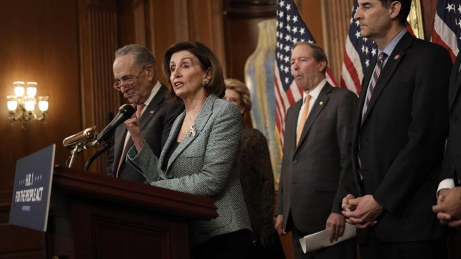 Pelosi telegraphs third coronavirus funding bill amid scramble to calm markets