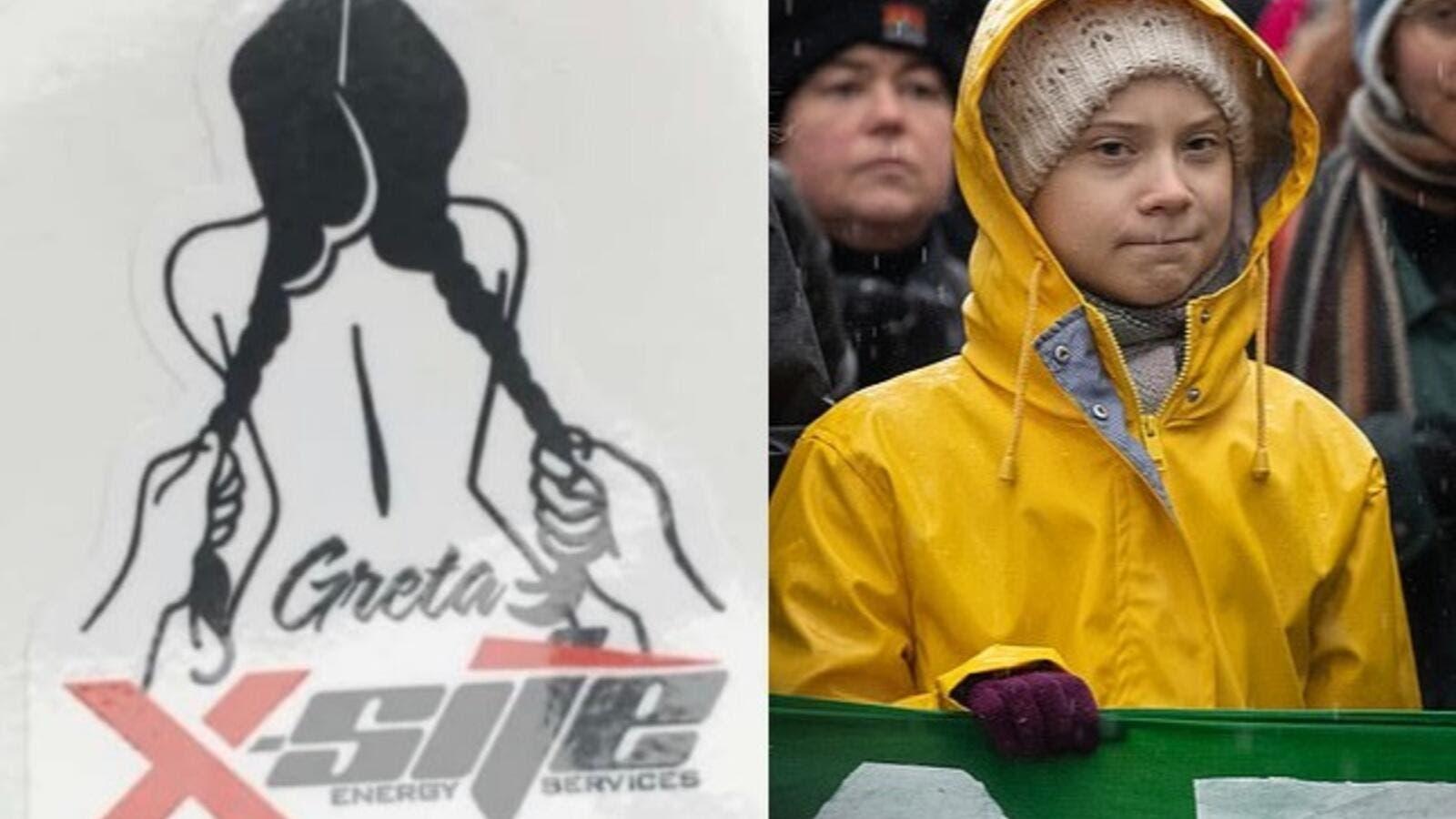 Canadian Oil Firm Under Fire After Sick Rape Cartoon of Greta Thunberg