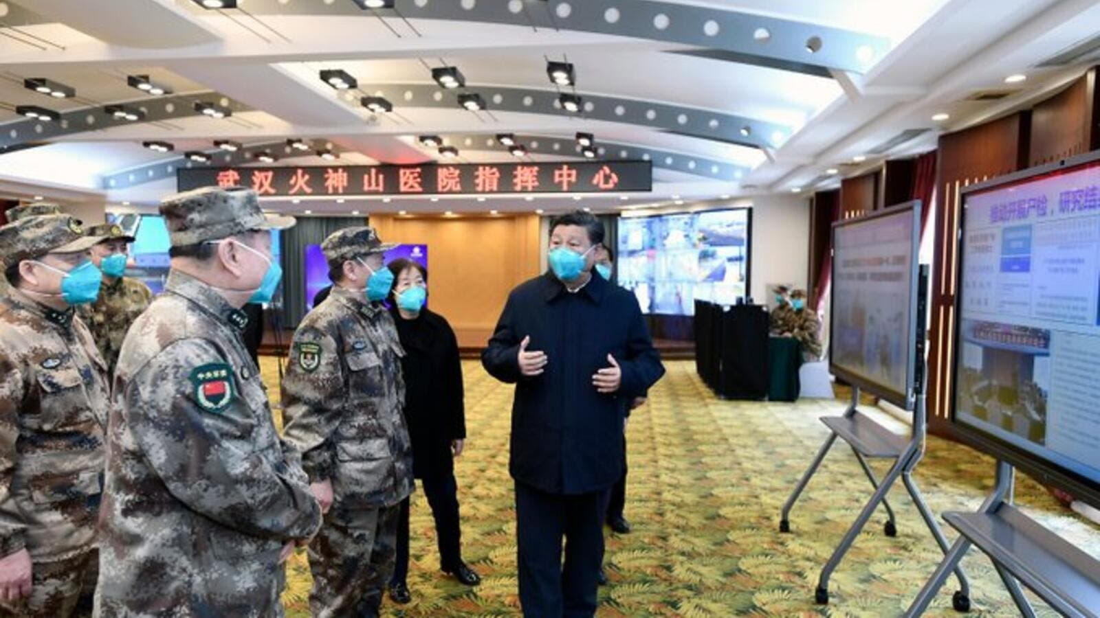 CHINA Party acclaims, the people criticise Xi's first visit to Wuhan