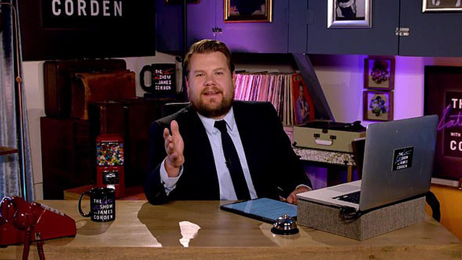 James Corden Undergoes Eye Surgery, Is 'Doing Well & Recovering'