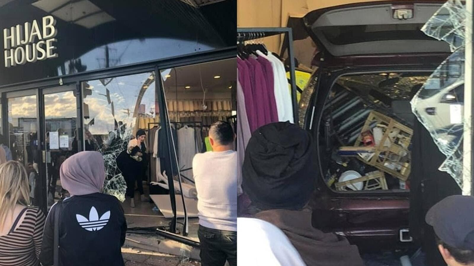 Car Smashes Into Hijab Store in Australia, Injuring 12 People