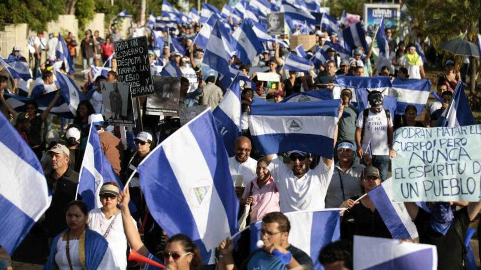 Protests erupted in Nicaragua, with violent consequences. (AFP/ File)