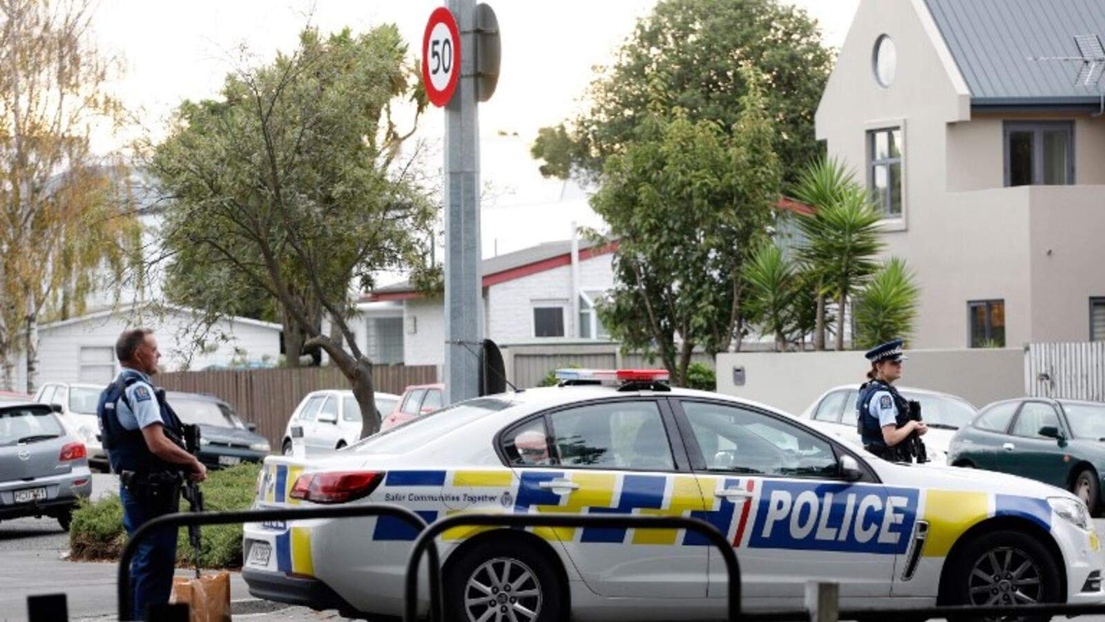 Attacks on two Christchurch mosques left at least 49 dead on March 15, with one gunman -- identified as an Australian extremist -- apparently livestreaming the assault that triggered the lockdown of the New Zealand city.