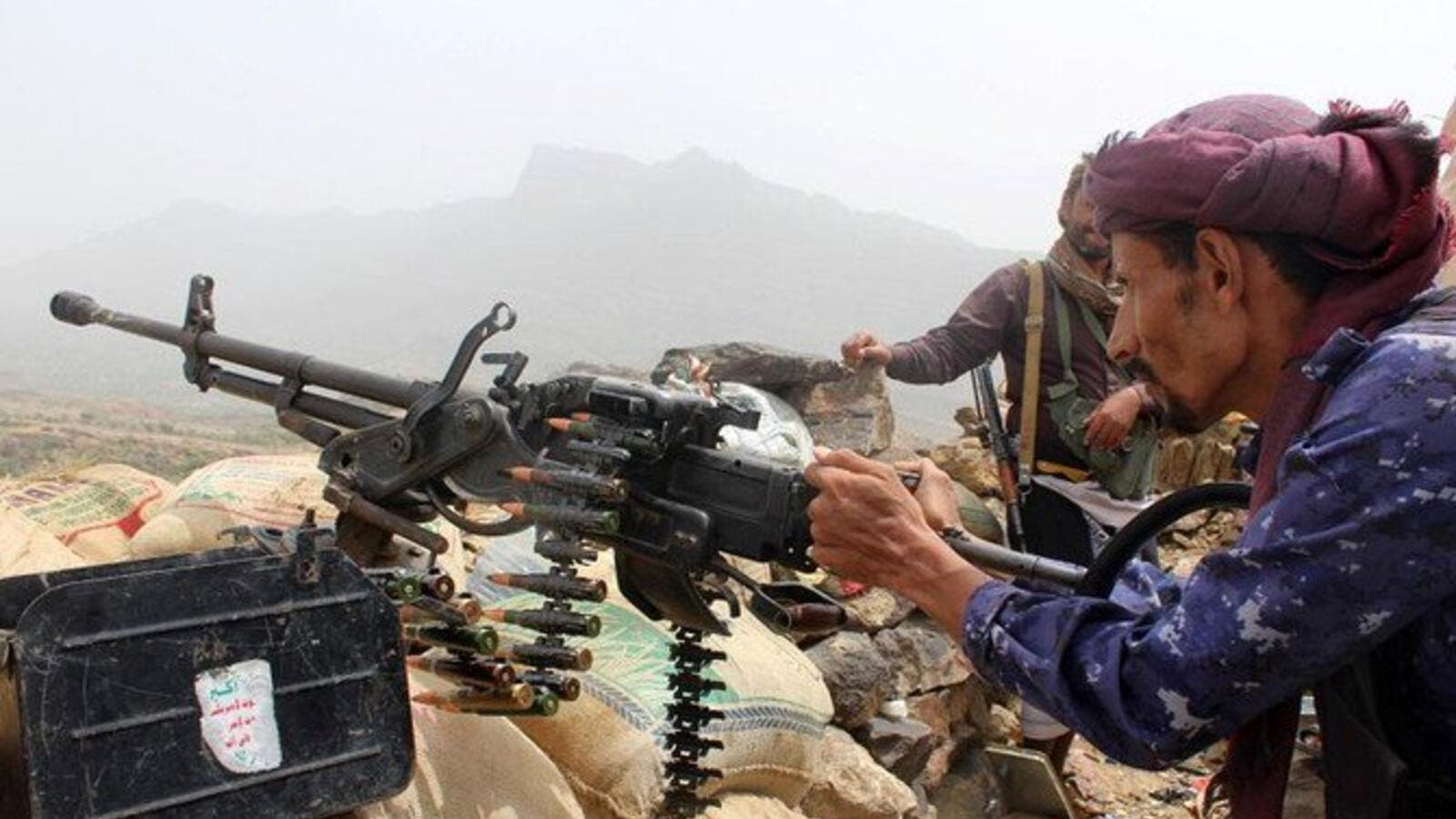 A military official said dozens of Houthi militants had been killed or wounded. (AFP/ File photo)