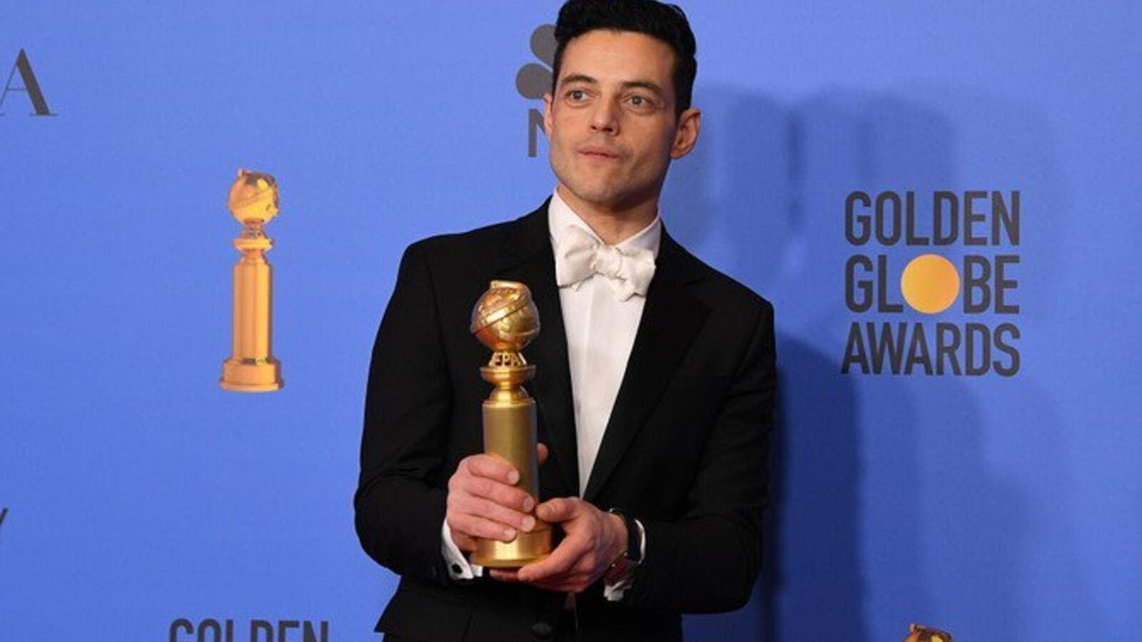 "Rami Malek portrayed Queen front man Freddie Mercury in the biopic ""Bohemian Rhapsody."" (Source: AFP)"