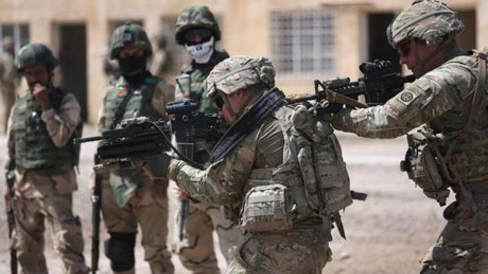 Some 500 additional US military advisers have arrived in Iraq since summer. (AFP/ File)