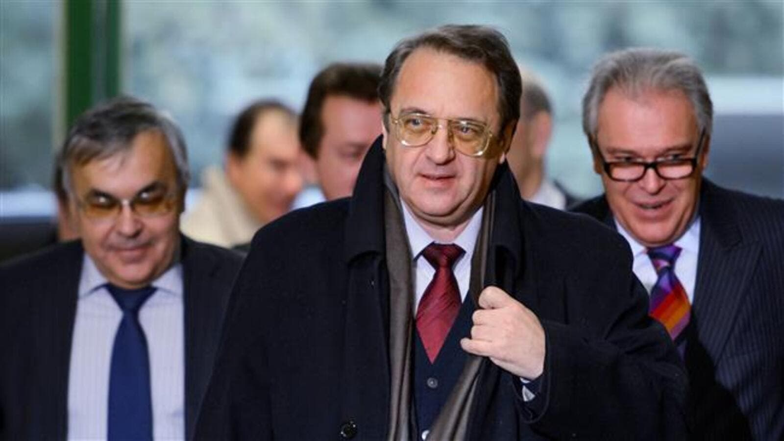 Russia's Deputy Foreign Minister Mikhail Bogdanov (AFP/File Photo)