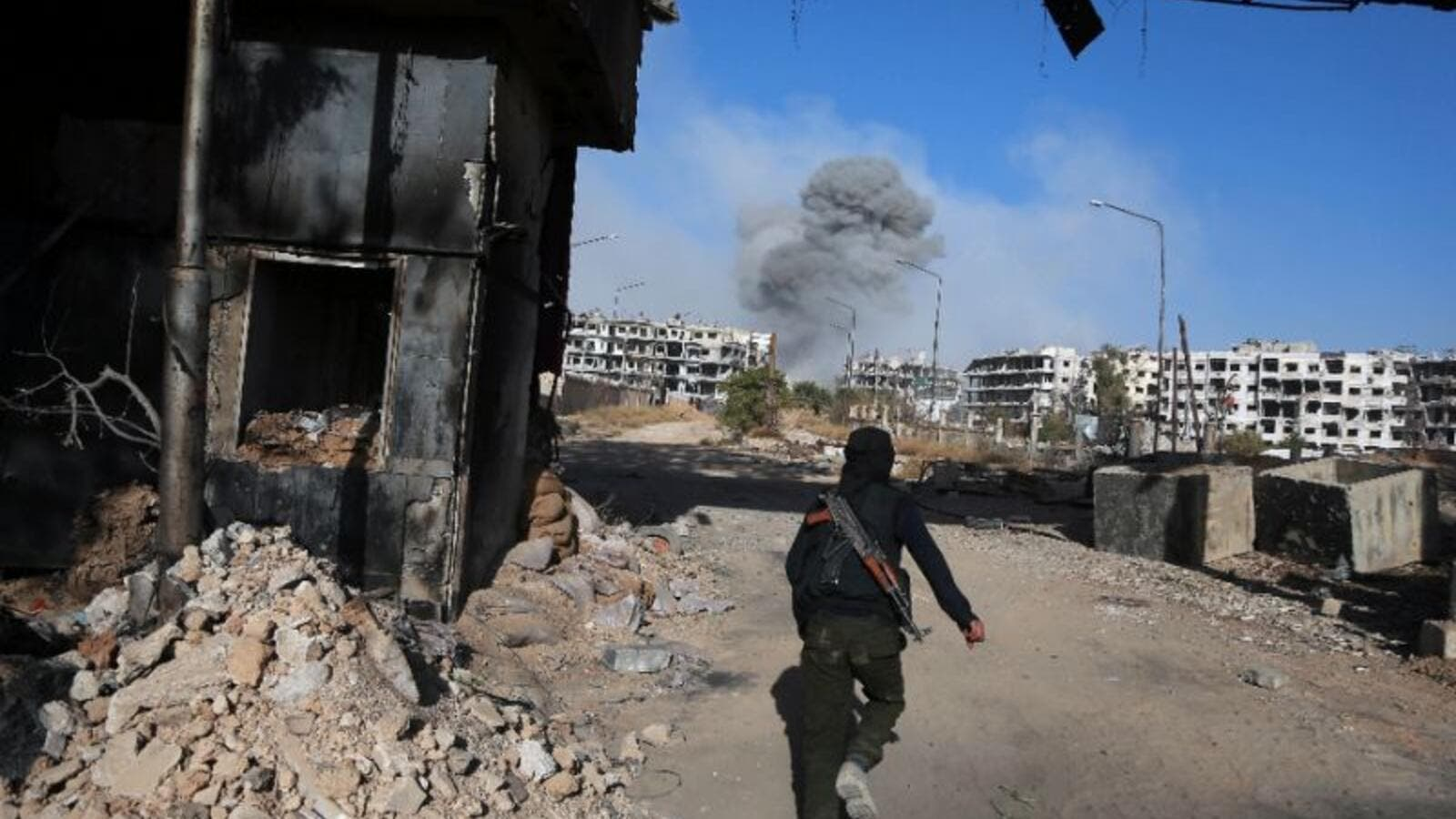 Syrian rebels in the Idlib province have formed the National Liberation Front, (AFP/File)