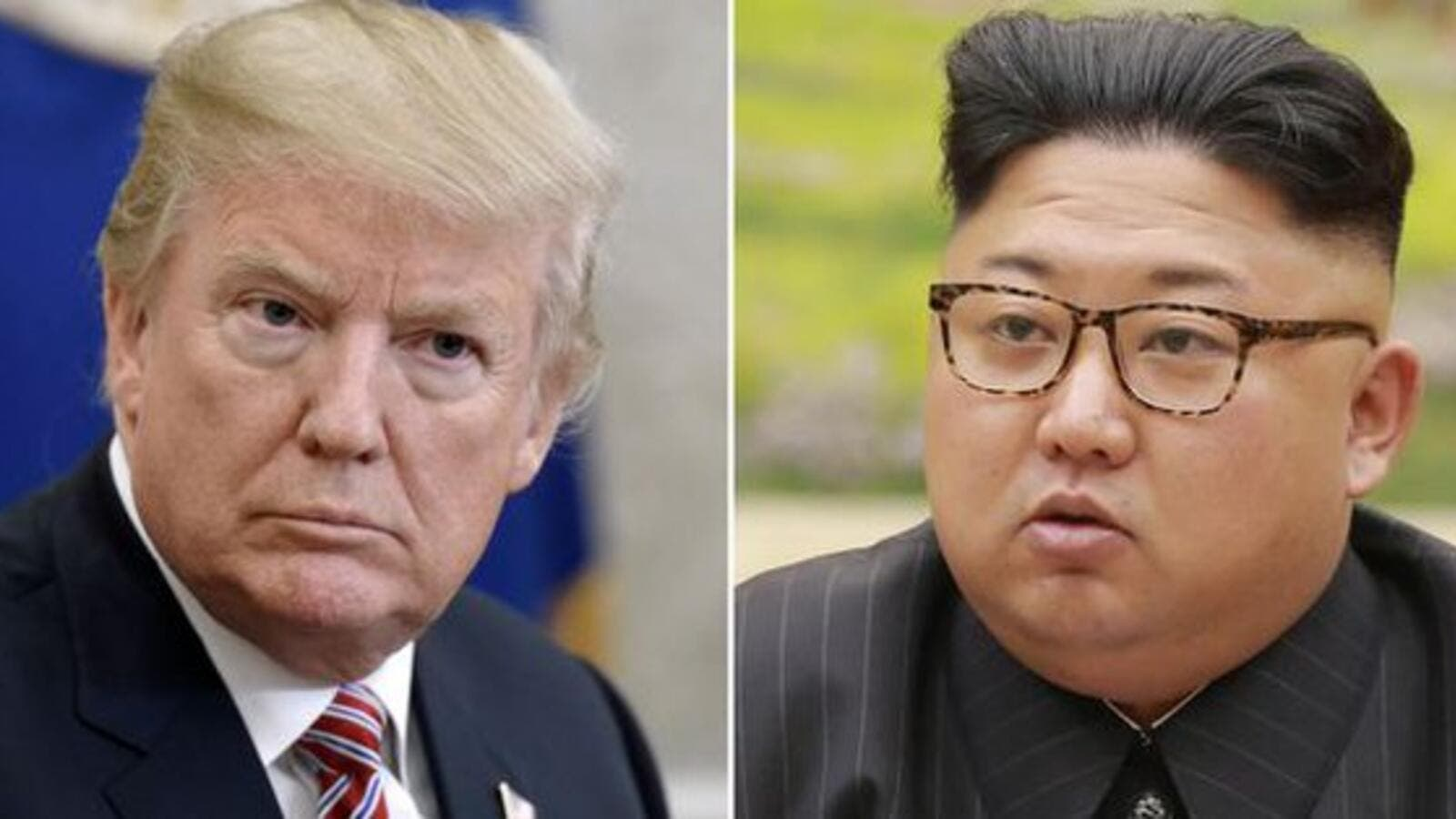 North Korean leader Kim Jong-un and U.S. President Donald Trump (Twitter)