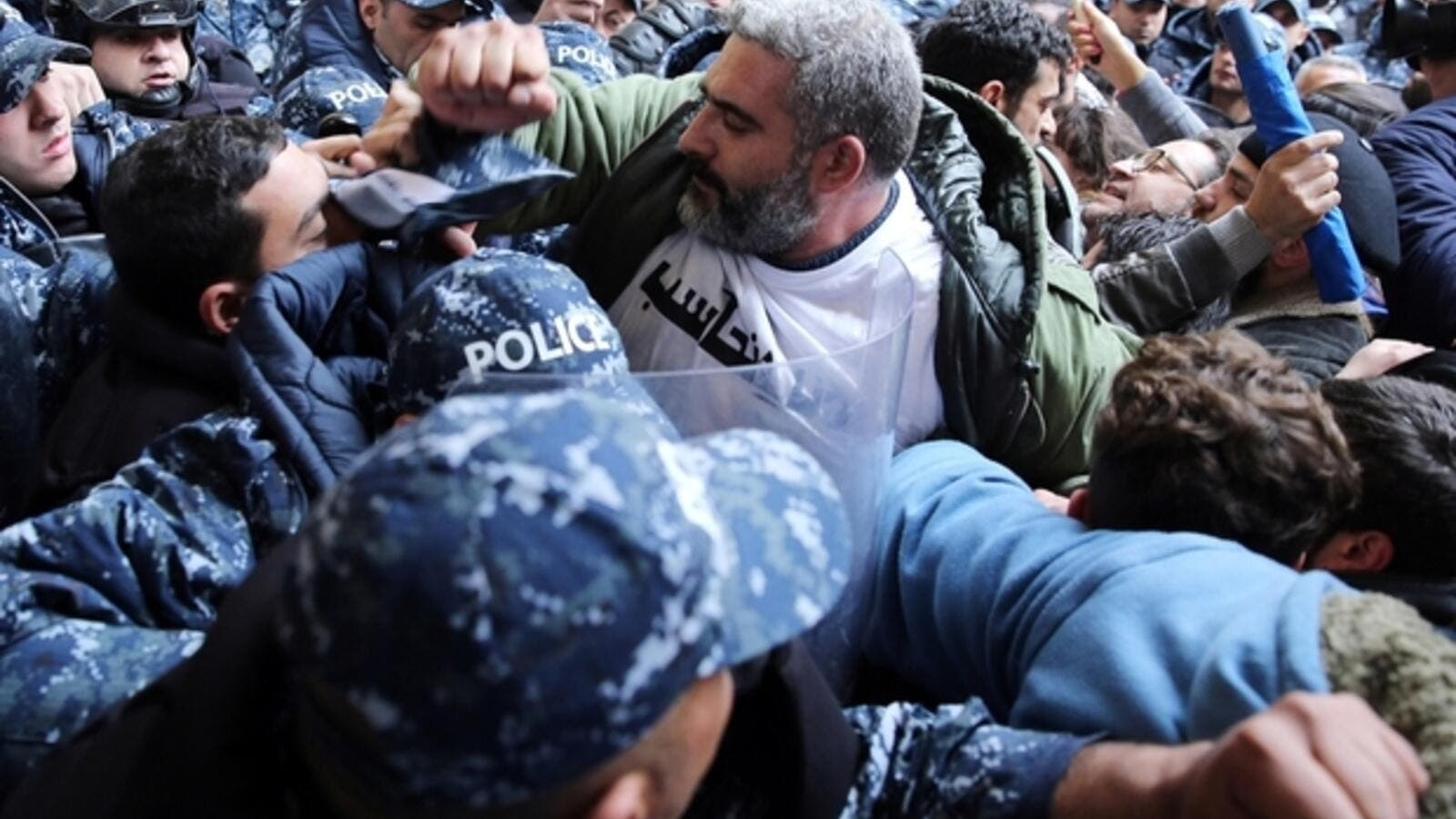 Video of Lebanese Security Officer Slapping Worker Goes