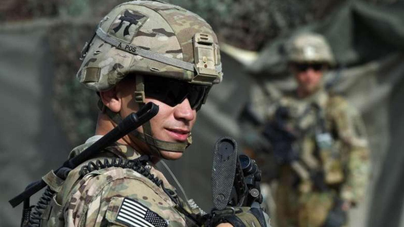 A U.S. army soldier stationed in Afghanistan (AFP/File Photo)