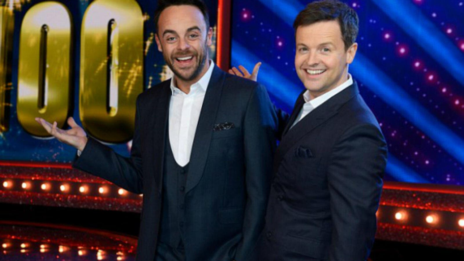 Support: Ant McPartlin reportedly gave Declan Donnelly his blessing to host the final two episodes of Saturday Night Takeaway, as the embattled presenter heads to rehab hours after he was charged for drink-driving (Source: ITV - REX - Shutterstock)